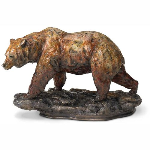 One Step-Grizzly Bear Sculpture 6567730675
