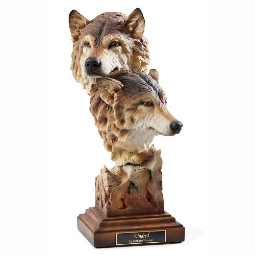 Kindred-Wolves Sculpture 6567412071