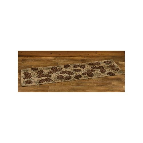 Walk in The Woods Hooked Rug Runner