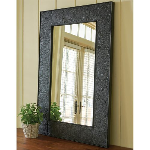 Embossed Star Mirror