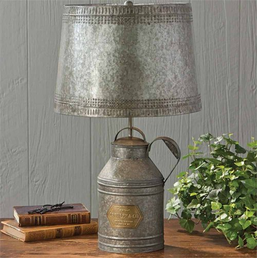 Tin Antique Lamp