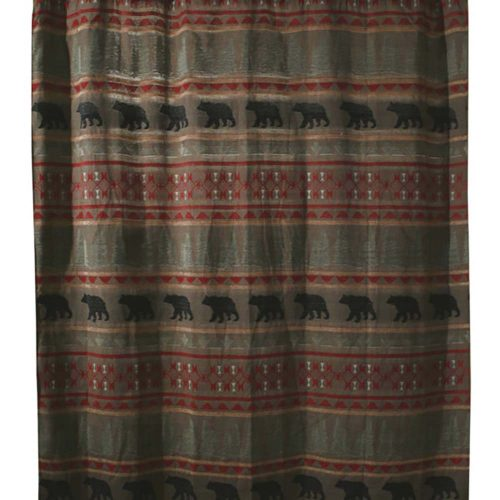 Bear Country Shower Curtain JB4006