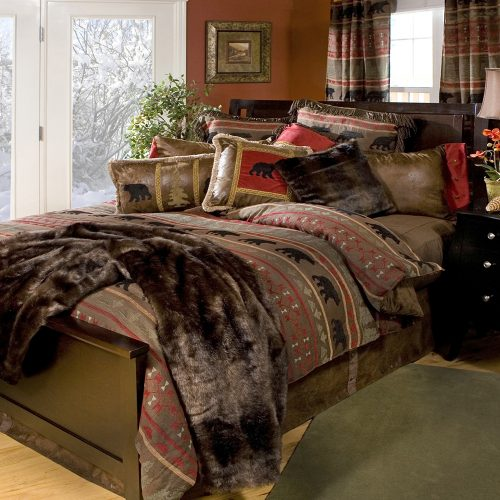 Bear Country Bedding Set JB-4001, JB-4002