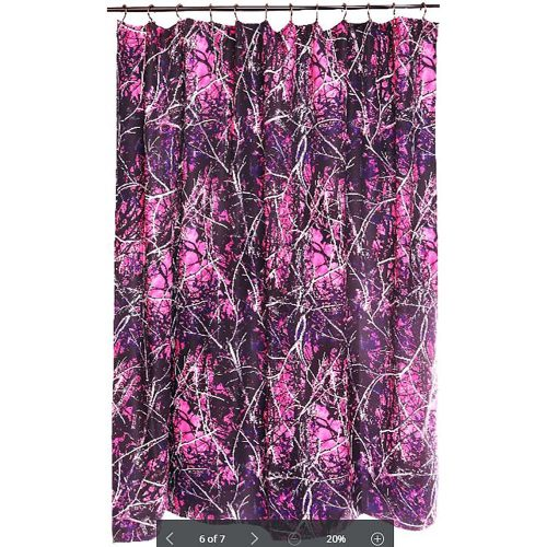 Muddy Girl Shower Curtain