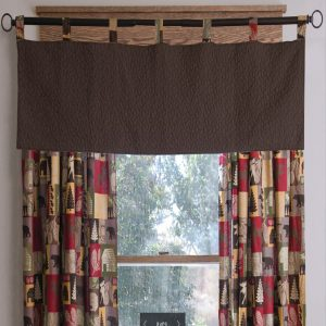 Cabin in the Woods Valance
