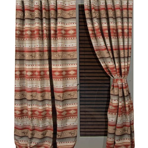 Flying Horse Drapes JB1108
