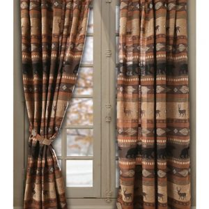 Autumn Trails/Northern Pine Drapes JB-4147