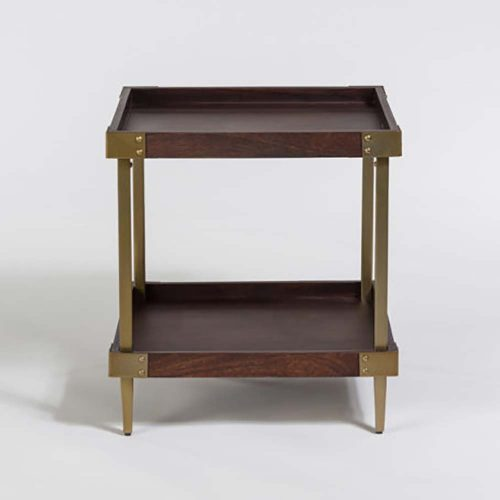 Avenue End Table AT9227-WLT/ABF