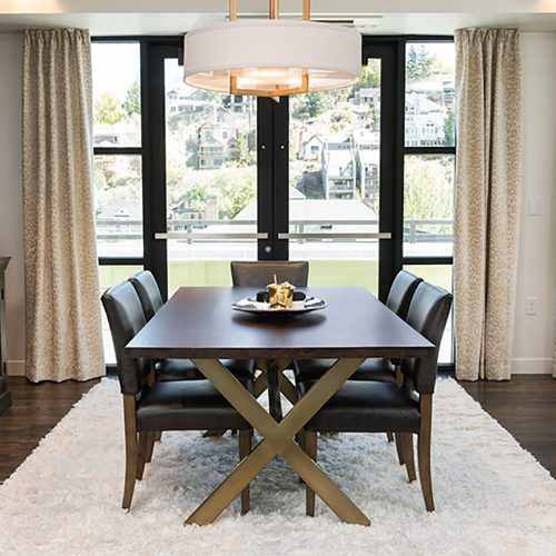 Jackson Dining Table AT8960-DCH-ABF