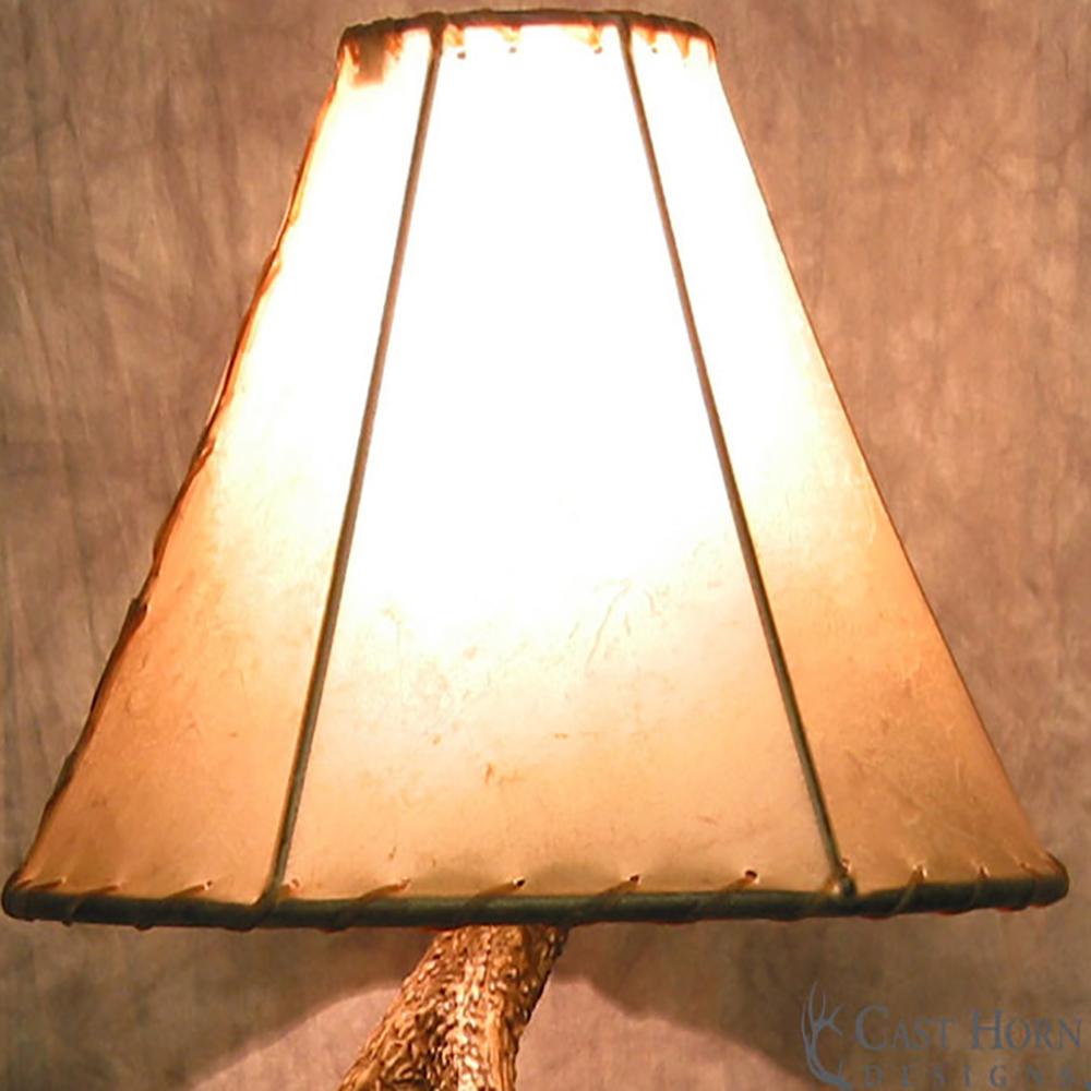 ... Antler Table Lamp. Whitetail ...
