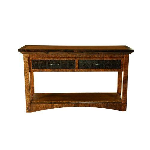Chesapeake Reclaimed Barn Wood Sofa Table 47230