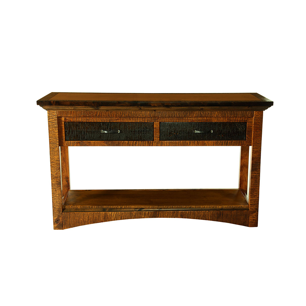Chesapeake Reclaimed Barn Wood Sofa Table 47230