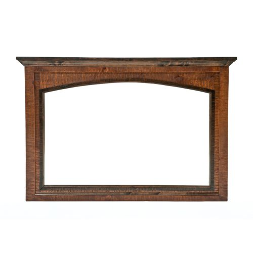 Chesapeake Reclaimed Barn Wood Dresser Mirror 47410
