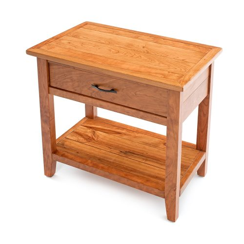 Denver 1 Drawer Nightstand – Solid Cherry Wood 88415-WC