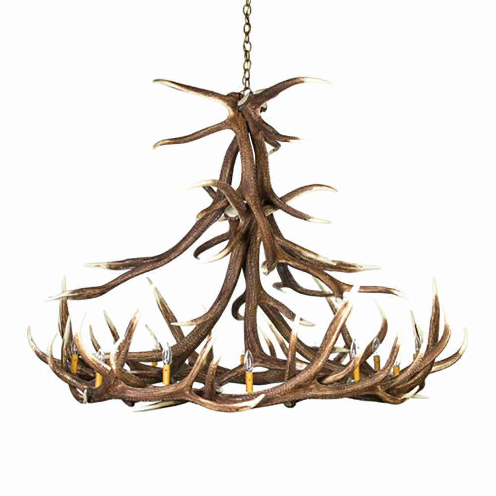 Elk 12 antler chandelier e12 elk 12 antler chandelier arubaitofo Image collections
