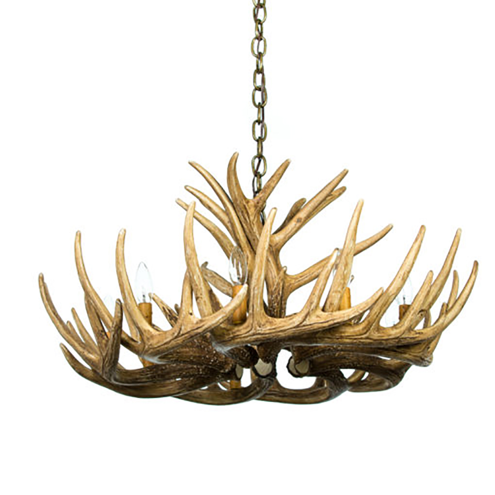 Whitetail deer 12 antler cascade chandelier w12c w12cdl aloadofball Image collections
