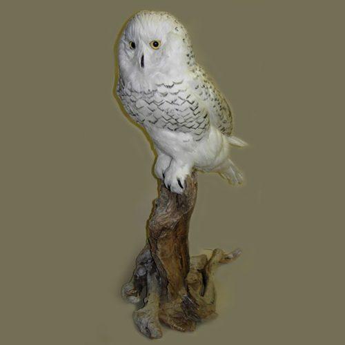 Faux Snow Owl