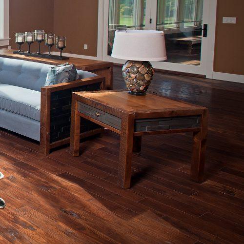 Chelsea Reclaimed Barn Wood End Table 41200