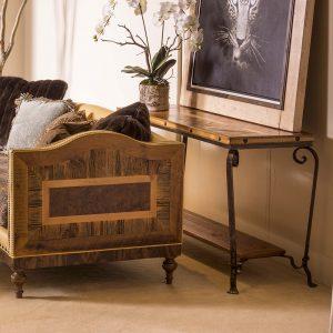 Durango Reclaimed Barn Wood Sofa Table 710