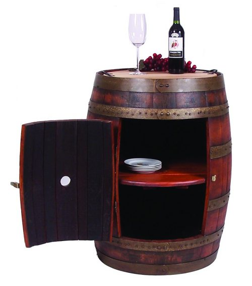 FULL BARREL CABINET ON CASTERS 2DD-891