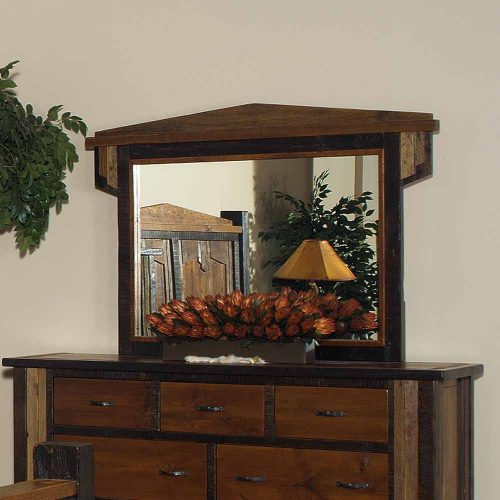 Cody Reclaimed Barn Wood Dresser Mirror 29413