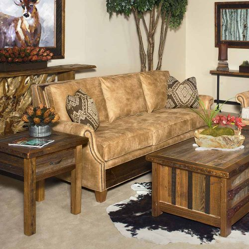 Norfolk Sofa-Aztec Sunrise-Reclaimed Barn Wood 6092420-SF