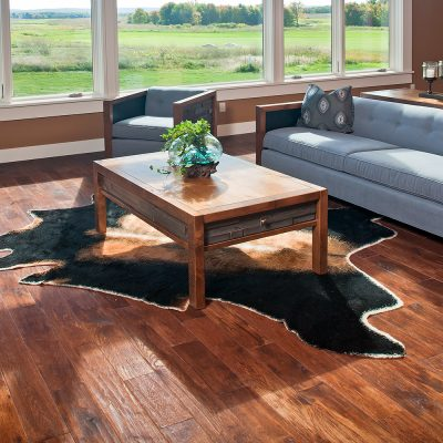 Chelsea Reclaimed Barn Wood 2 Drawer Coffee Table 41205