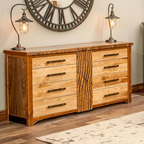 Mendocino Reclaimed Barn Wood 8 Drawer Dresser -TM Designs 815745