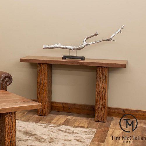 Birchmere Sofa Table w/ Walnut Waterfall Top by Tim McClellan 8977270