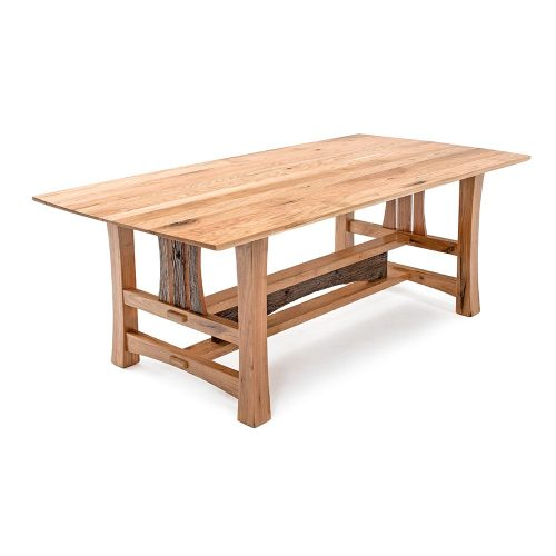 Hampton Heath Reclaimed Barn Wood Dining Table HH7752