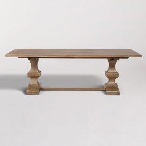 Summerton 96″ Trestle Dining Table AT50040-96-WDB