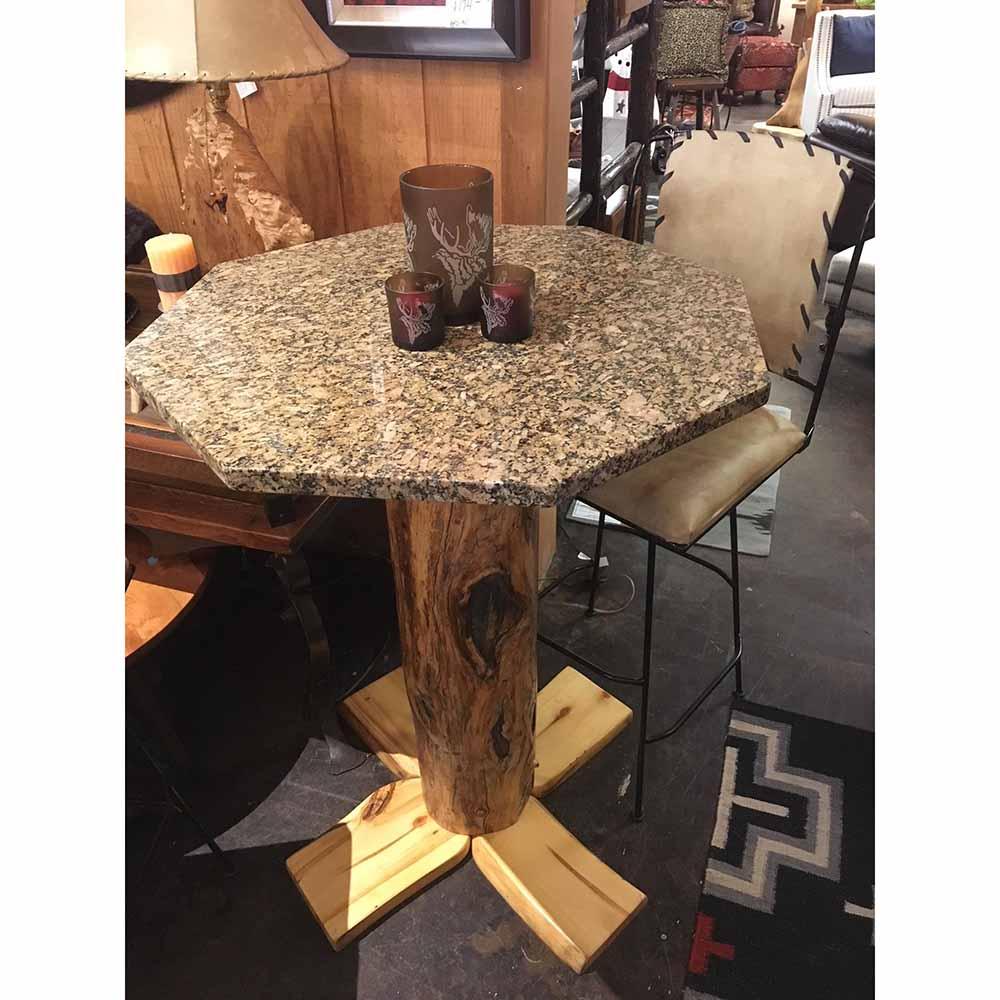 Aspen Log Pub Table
