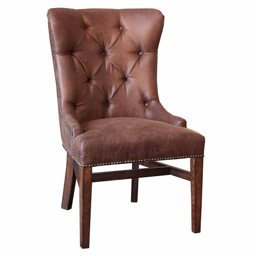 Terra Urban Rustic Tufted Dining Chair IFD1020CHAIR-T