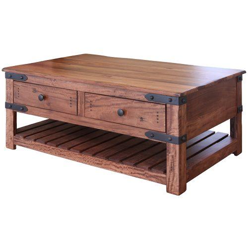 Parota II Urban Rustic Coffee Table IFD867CKTL