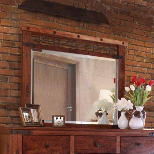 Parota Urban Rustic Dresser Mirror IFD-866MIRROR