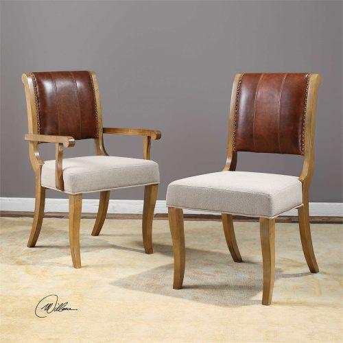 Carson, Armless Chair 23417