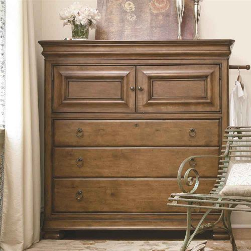 New Lou 3 Drawer 2 Door Chest