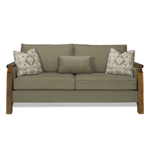 Heritage Reclaimed Barn Wood Sofa - Manhattan 638390-SF