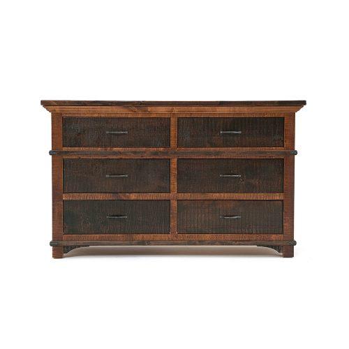 Glen Falls Reclaimed Barn Wood 6 Drawer Dresser 21425