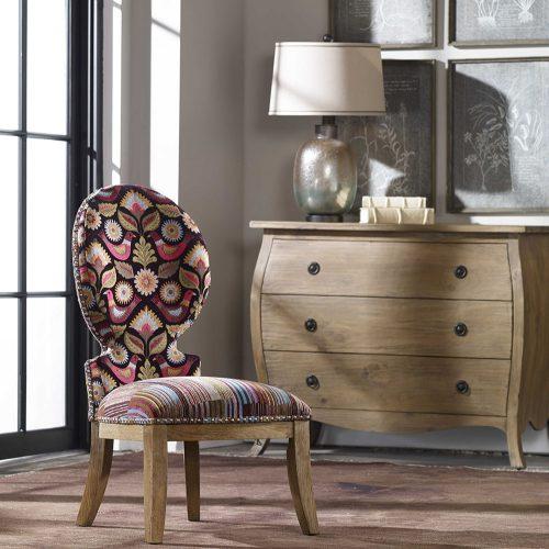 Cruzita, Armless Chair 23170