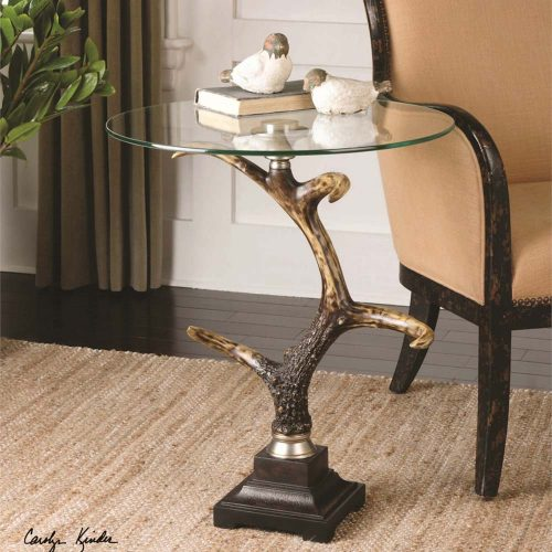 Stag Horn, Accent Table 24430