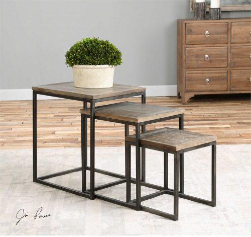 Bomani, Nesting Tables 24460