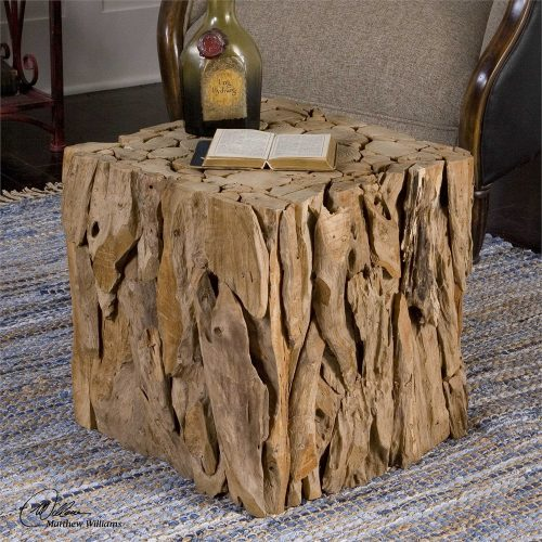 Teak Root Bunching Cube 25592