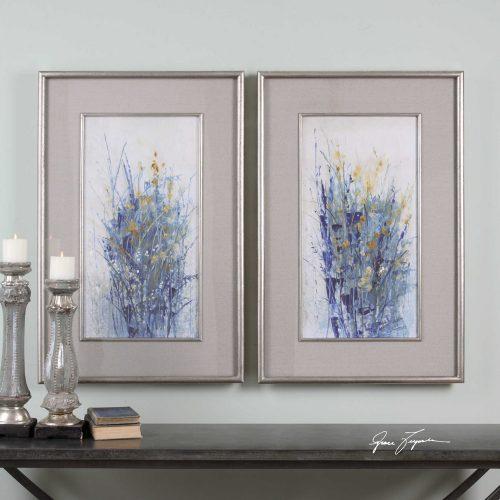 Indigo Florals 41558