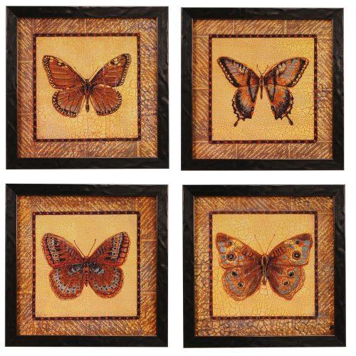 Crackled Butterfly CVA3348