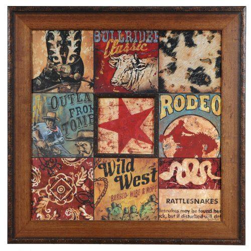Cowboy Collage CVA3363