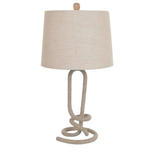 Twisted Rope Table Lamp CVNAM696