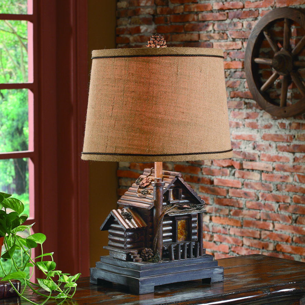 Lodge & Western Table Lamps