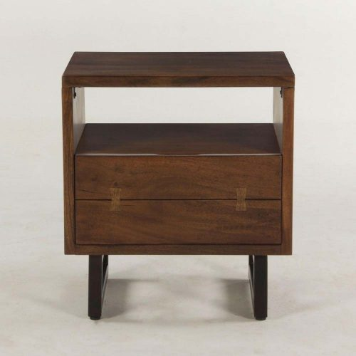 New Aspen Walnut Night Chest FAS-NC24WN