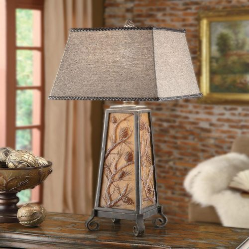 "Autumn's Light"" Table Lamp CIAUP471"